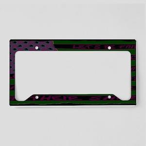 LETSBFAIRBAK2 License Plate Holder