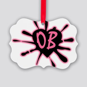 LogoOB Picture Ornament