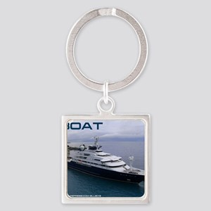 boat cover Square Keychain