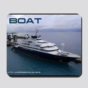 boat cover Mousepad