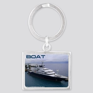 boat cover Landscape Keychain