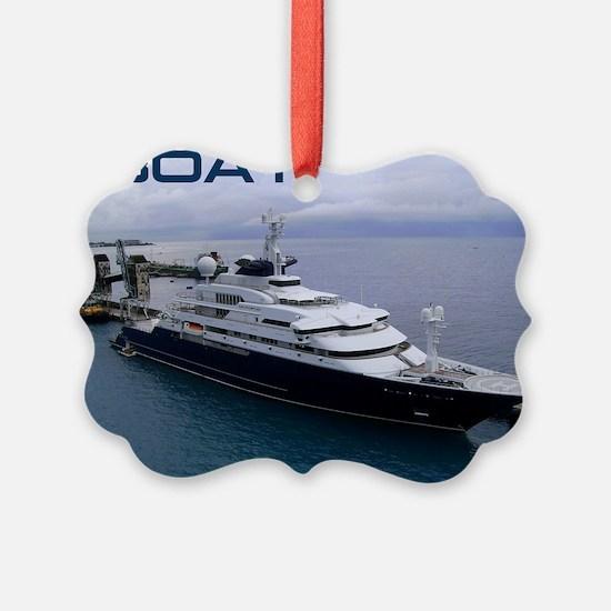 boat cover Ornament