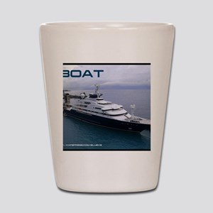 boat cover Shot Glass