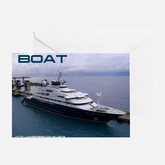 boat cover Greeting Card