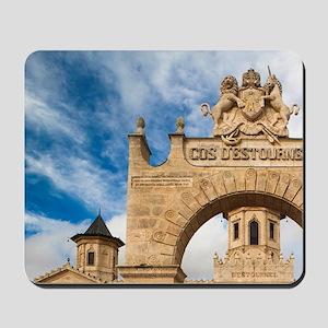 Chateau Cos d'Estournel winerynde Depart Mousepad