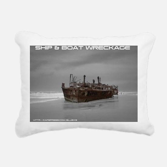 wreckage cover Rectangular Canvas Pillow