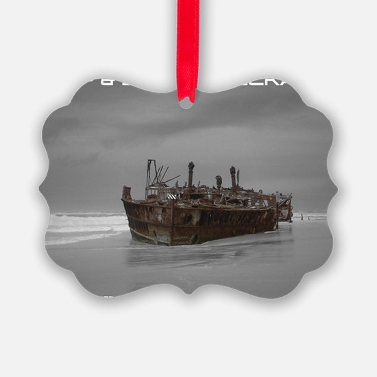 wreckage cover Ornament