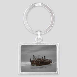 wreckage cover Landscape Keychain