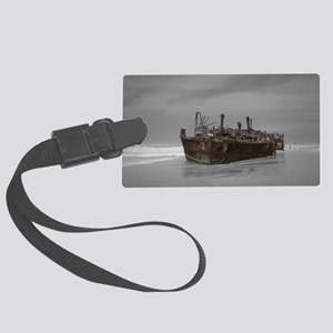 wreckage cover Large Luggage Tag