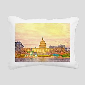 baner Rectangular Canvas Pillow
