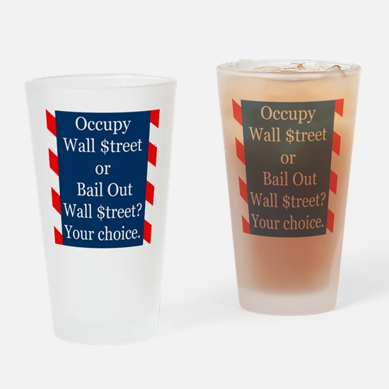 Occupy100x1000 Drinking Glass