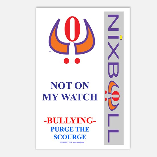 P. NOT ON MY WATCH F3 WHT Postcards (Package of 8)