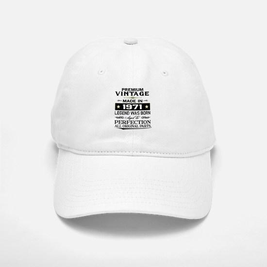 PREMIUM VINTAGE 1971 Baseball Baseball Baseball Cap