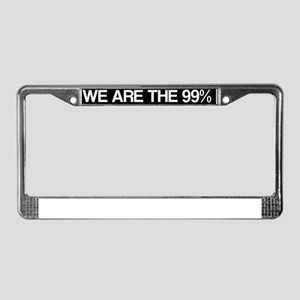 occupy4 License Plate Frame