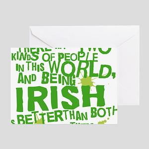 irish_green Greeting Card