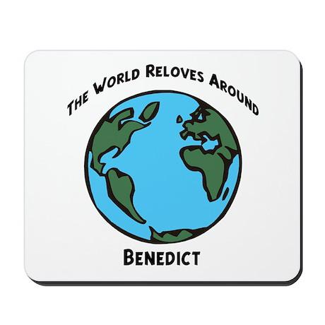 Revolves around Benedict Mousepad