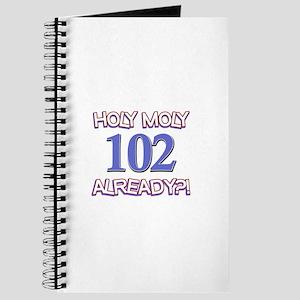 Holy Moly 102 already Journal