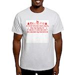 Christmas Humor Ash Grey T-Shirt