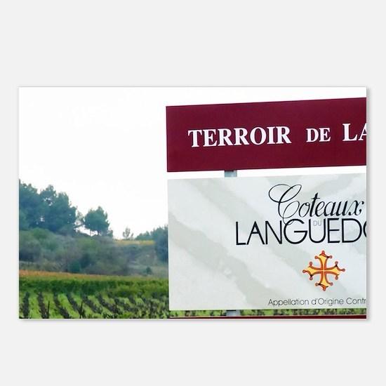 Terroir de la Clape AOC C Postcards (Package of 8)