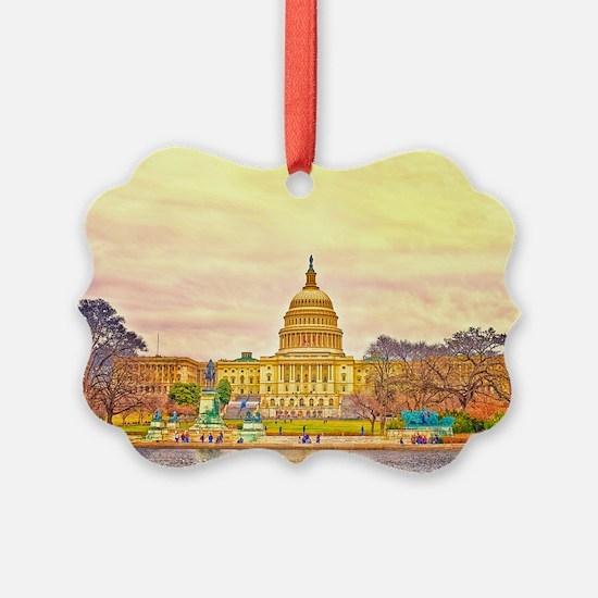 postcard Ornament
