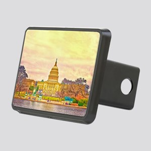 postcard Rectangular Hitch Cover