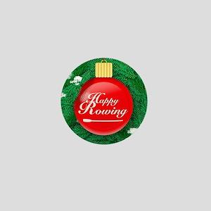 ornament_redball Mini Button