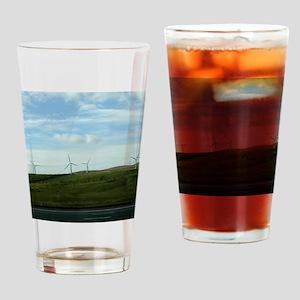 Wind Farm Drinking Glass