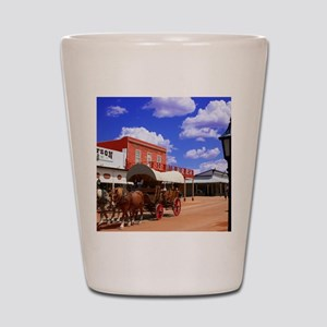 Tombstone Street Shot Glass