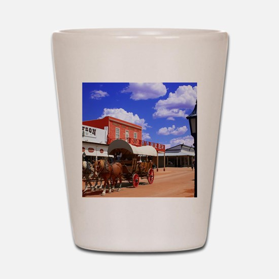 Tombstone Street Shot Glass