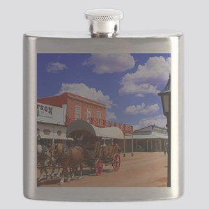 Tombstone Street Flask