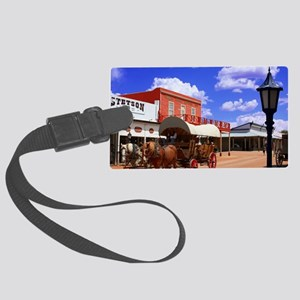 Tombstone Street Large Luggage Tag