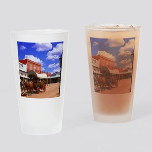 Tombstone Street Drinking Glass