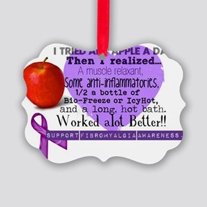 appleaday Picture Ornament