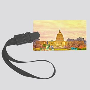 poster small Large Luggage Tag