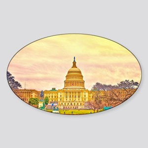 poster small Sticker (Oval)