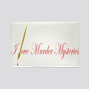Ilovemurdermysteries Rectangle Magnet