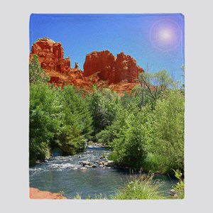 Cathedral Rock Throw Blanket