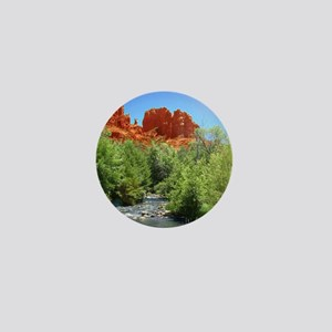 Cathedral Rock Mini Button