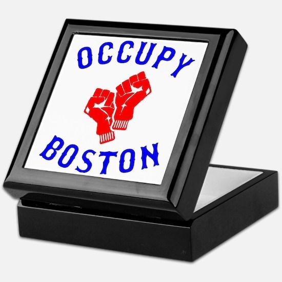 occupyboston.rgb.XL.eps Keepsake Box