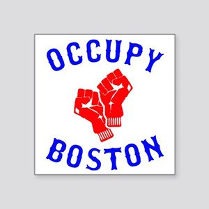 "occupyboston.rgb.XL Square Sticker 3"" x 3"""