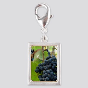 Wertheim. Grapes used to mak Silver Portrait Charm
