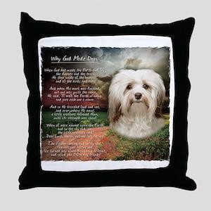 godmadedogs Throw Pillow