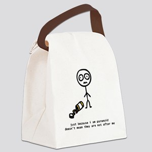 paranoia Canvas Lunch Bag