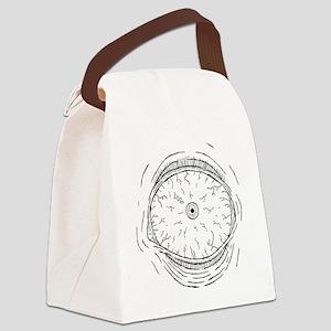 T07-eyeball Canvas Lunch Bag