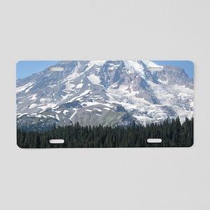 mountain2 Aluminum License Plate