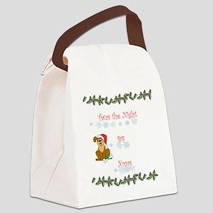 Twas the night b4 xmas 11 Canvas Lunch Bag