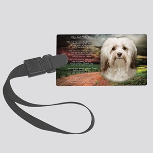godmadedogs(carmag) Large Luggage Tag