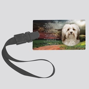 godmadedogs(license) Large Luggage Tag