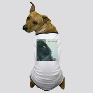 the thinker Dog T-Shirt