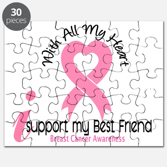 - Support my Best Friend Breast Cancer Puzzle